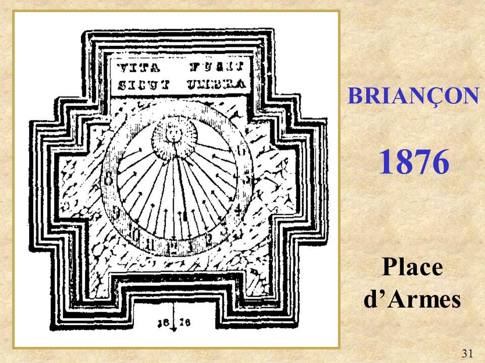 Place dArmes BRIANÇON 1876 31