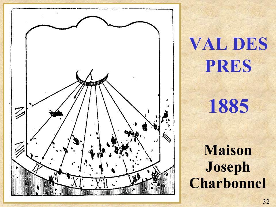 Maison Joseph Charbonnel VAL DES PRES 1885 32