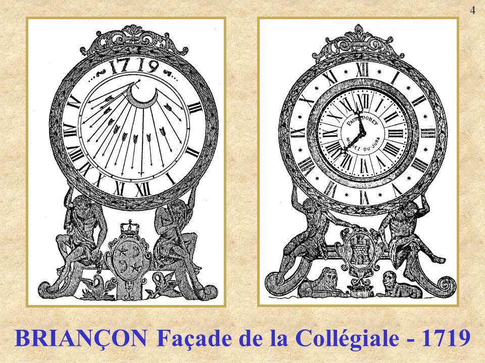 BRIANÇON Façade de la Collégiale - 1719 4