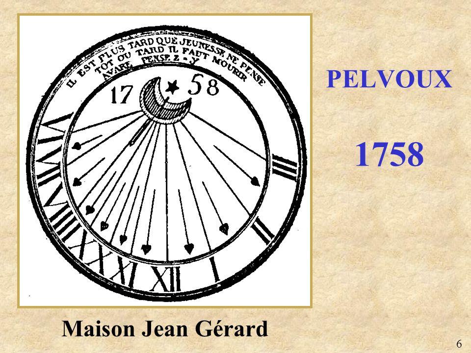 Maison Jean Gérard PELVOUX 1758 6