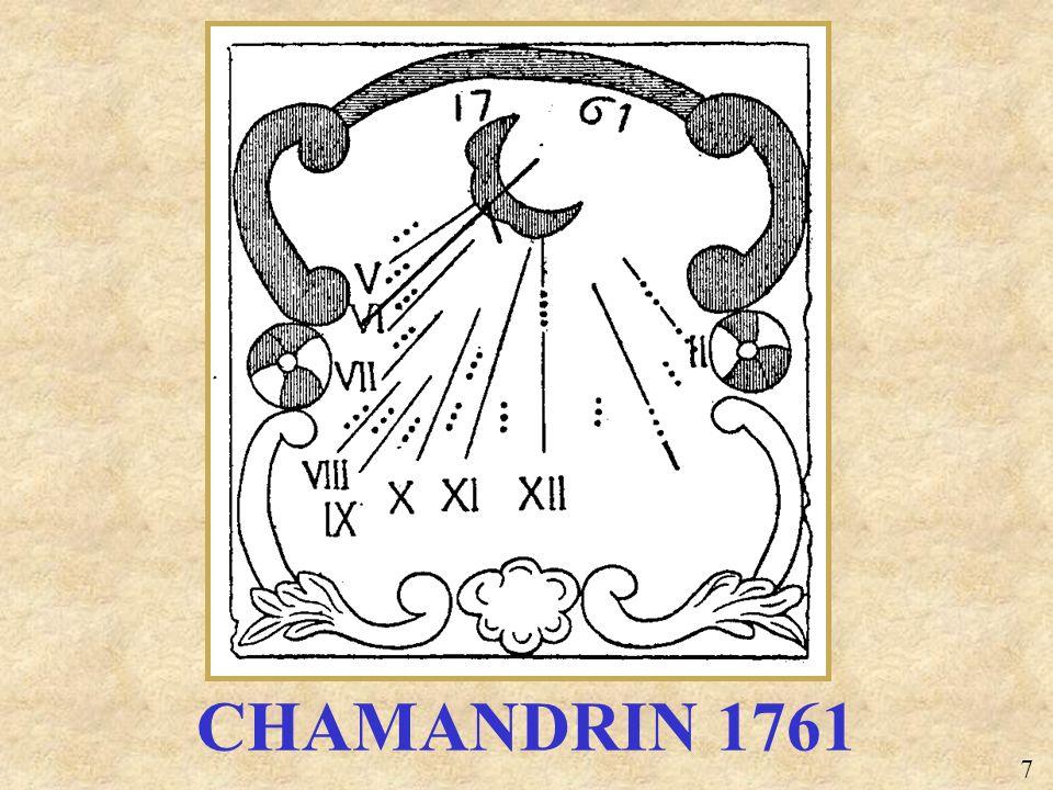 CHAMANDRIN 1761 7