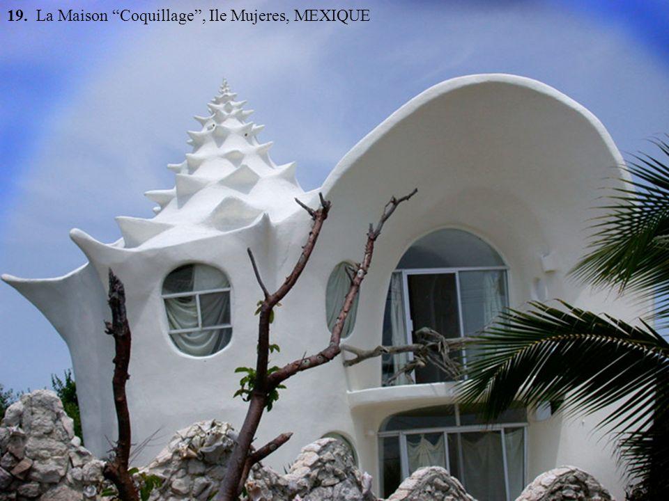 19. La Maison Coquillage, Ile Mujeres, MEXIQUE
