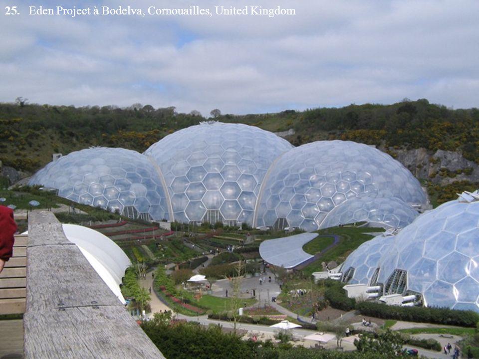 25. Eden Project à Bodelva, Cornouailles, United Kingdom
