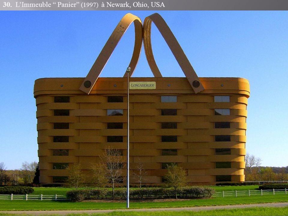 30. LImmeuble Panier (1997) à Newark, Ohio, USA