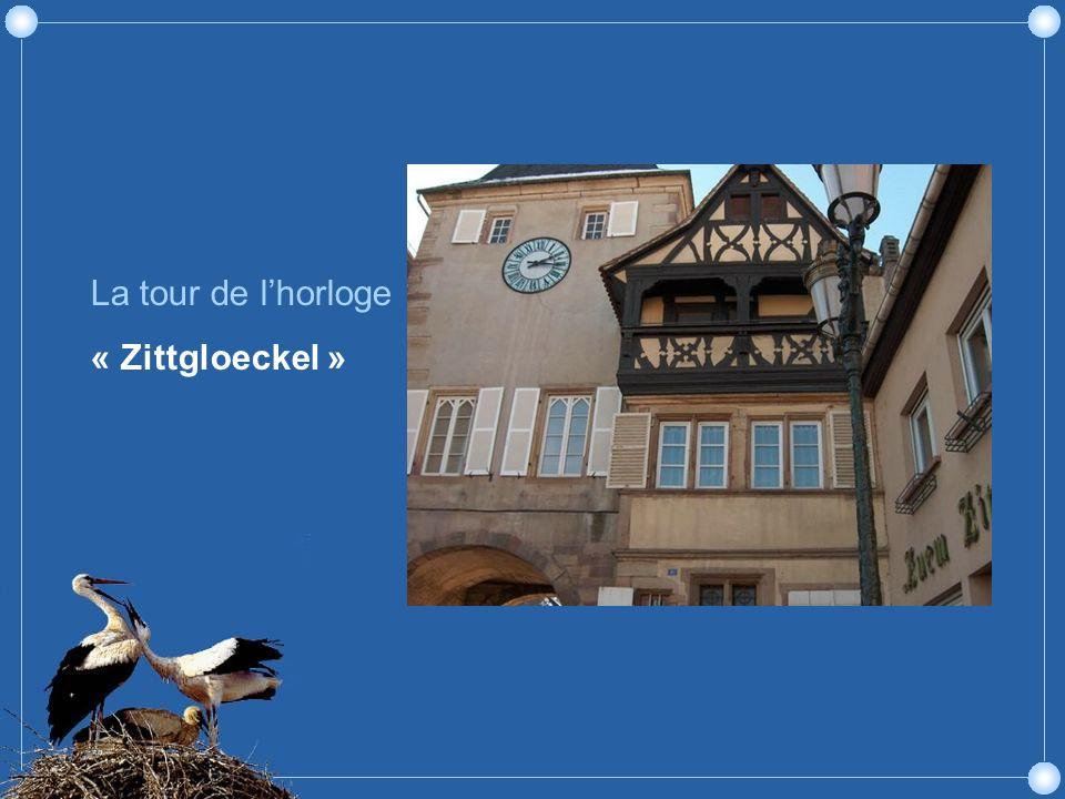 La tour de lhorloge « Zittgloeckel »