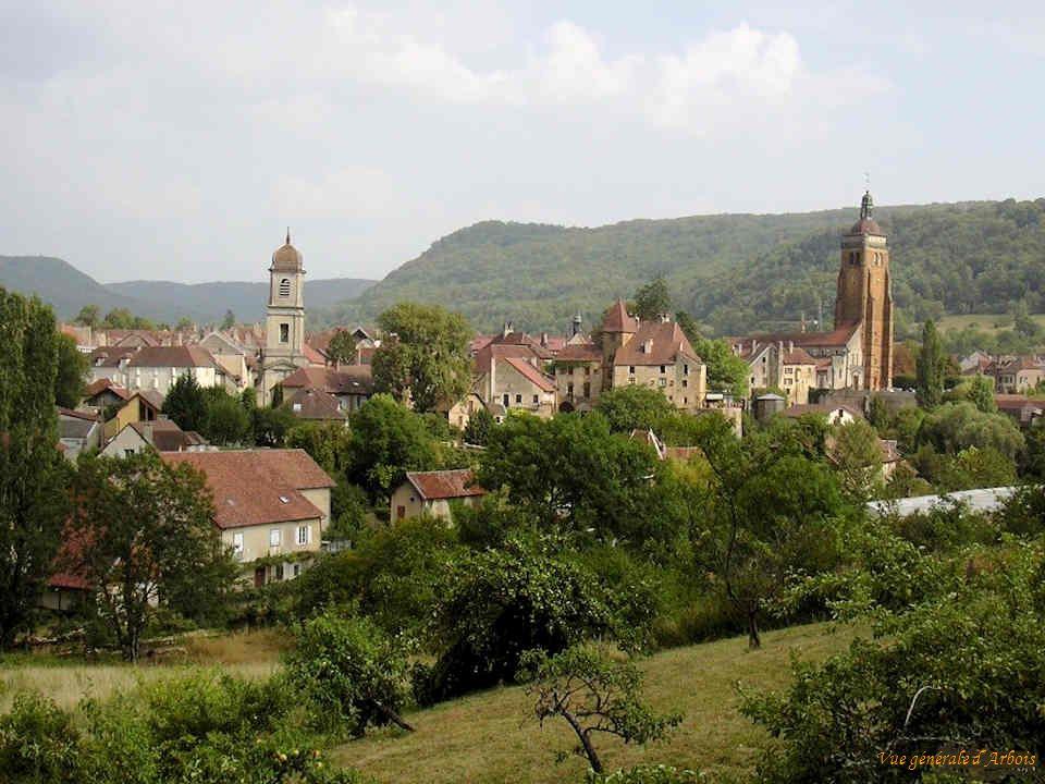 Arbois est une commune française située dans le département du Jura et la région Franche-Comté. Elle est traversée par la rivière Cuisance. Elle fait