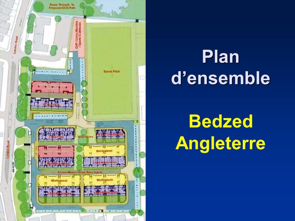 Plan densemble Plan densemble Bedzed Angleterre