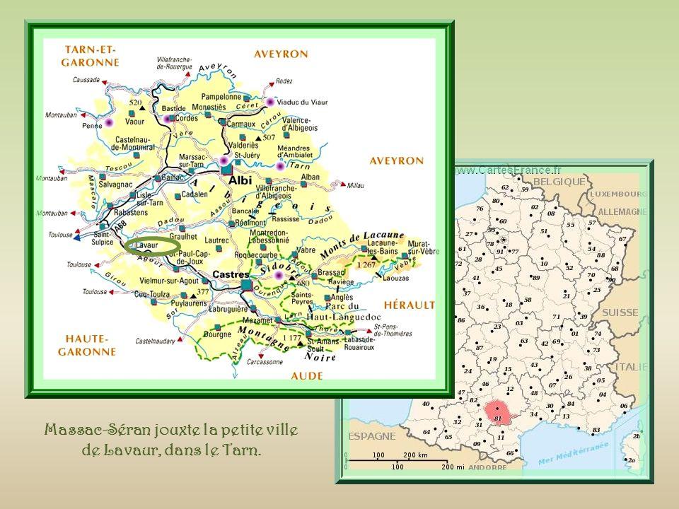 Le blason des Séran : « Dor, à une anille dazur »