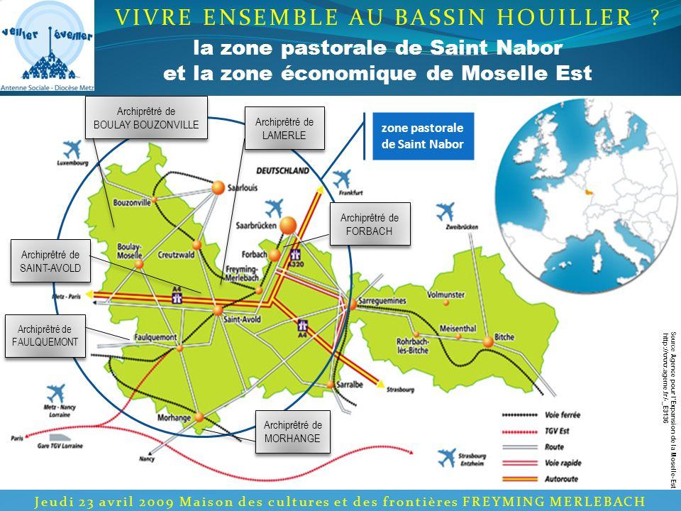 les évolutions des cinq dernières années VIVRE ENSEMBLE AU BASSIN HOUILLER .