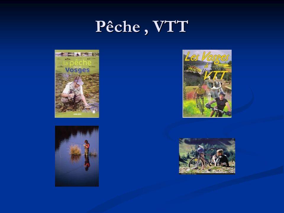 Pêche, VTT