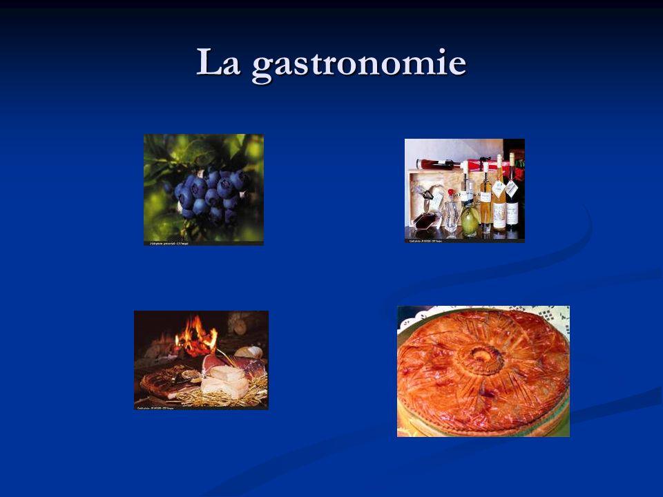 La gastronomie