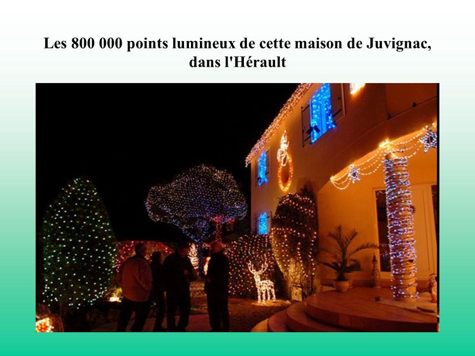 Les 800 000 points lumineux de cette maison de Juvignac, dans l Hérault