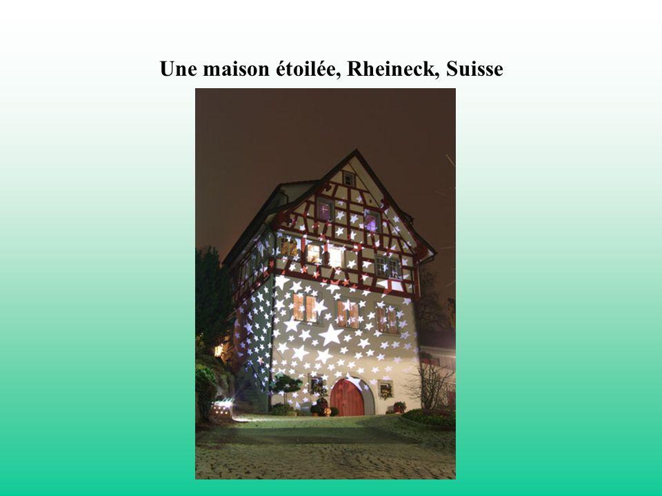 Une maison étoilée, Rheineck, Suisse