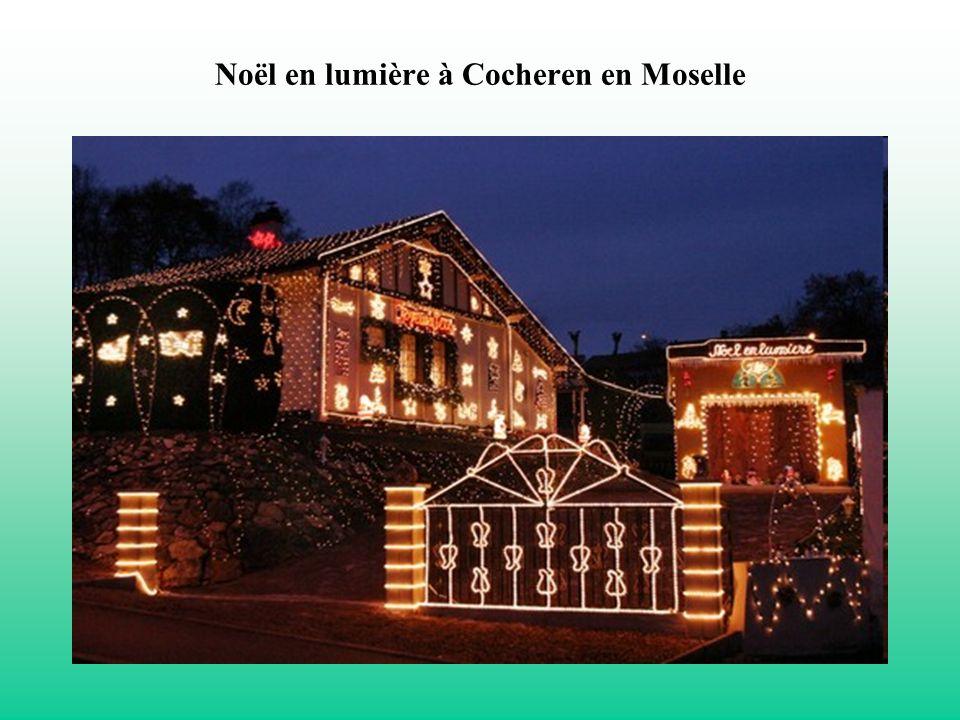 Noël en lumière à Cocheren en Moselle