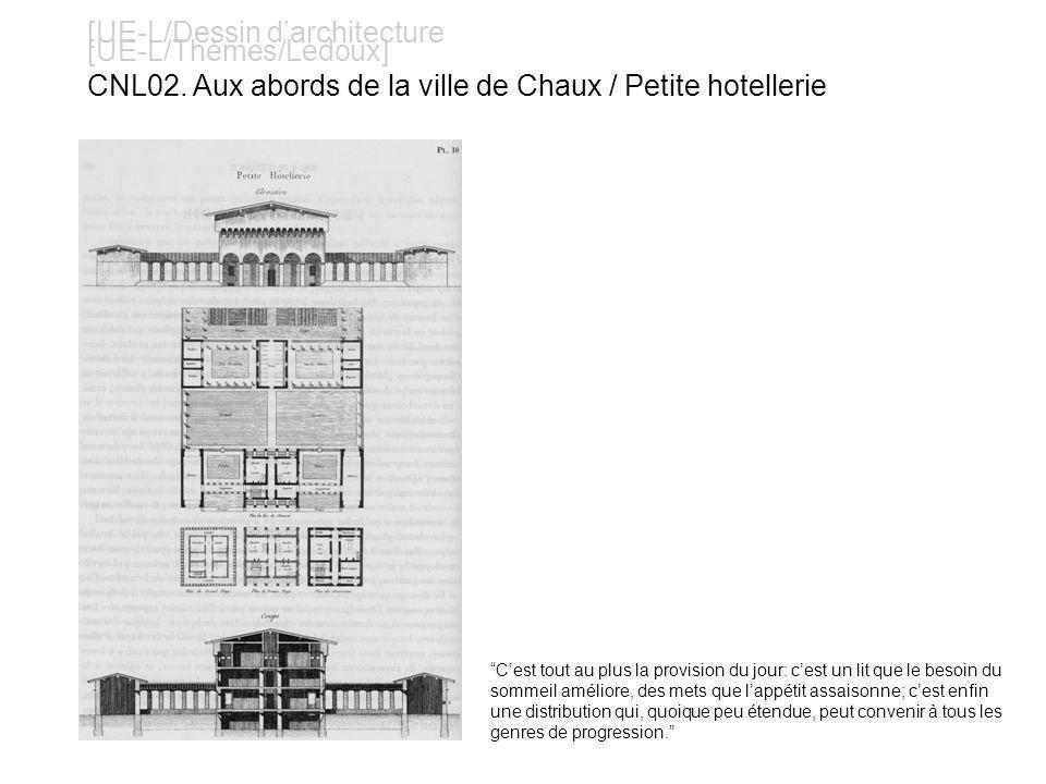 [UE-L/Dessin darchitecture [UE-L/Thèmes/Ledoux] CNL03..
