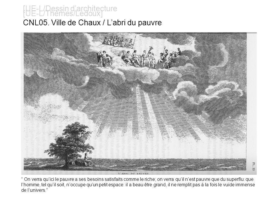 [UE-L/Dessin darchitecture [UE-L/Thèmes/Ledoux] CNL16.