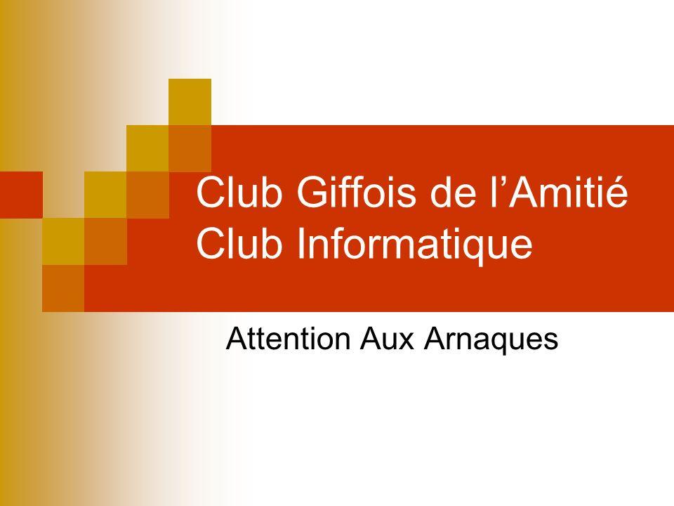Site internet du Club Site Internet du Club Giffois de lAmitié Changement dhébergeur : OVH Changement dadresse http://clubgiffois.frhttp://clubgiffois.fr Référencé en premier dans Google (avec le mot clé clubgiffois) Pensez à modifier vos favoris Lancien site est redirigé vers le nouveau
