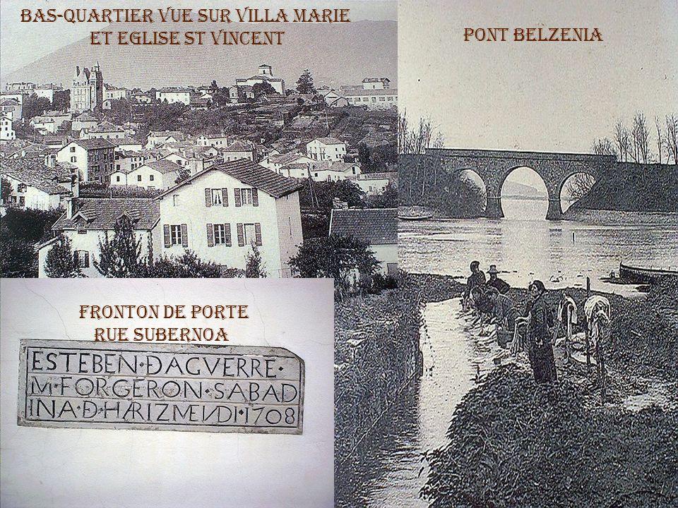 Je suis né au Bas-quartier, rue du Lavoir, maison Mujica.