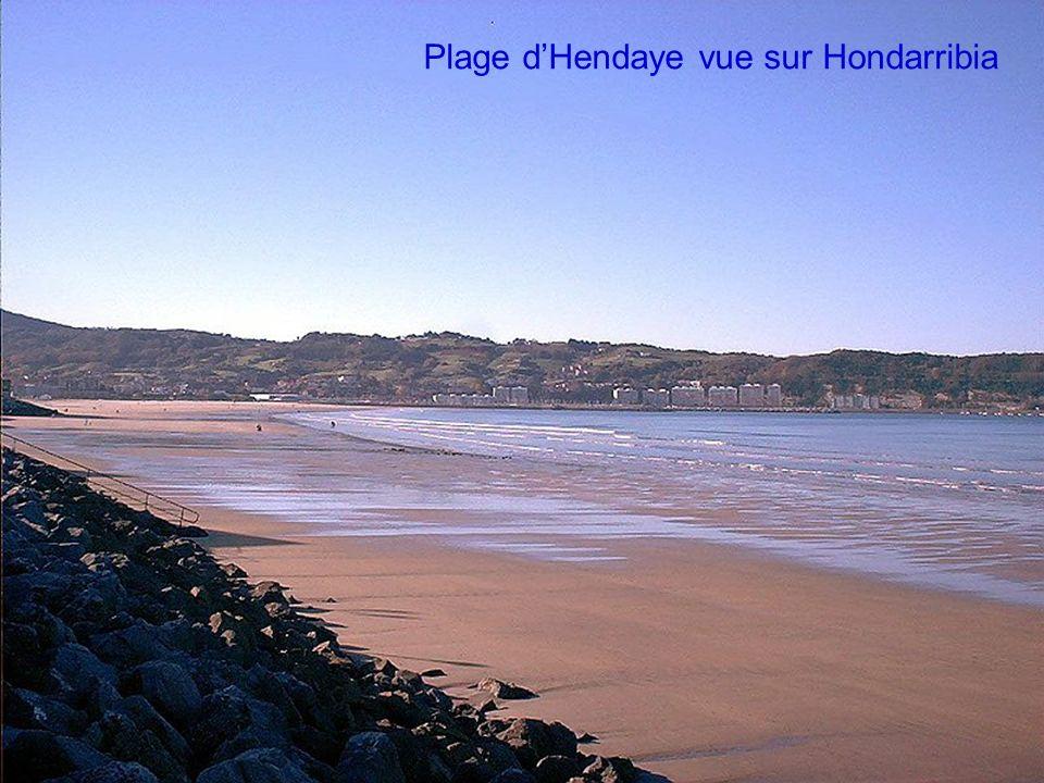Baie de Txingudi vue sur Hondarribia/Fontarrabie