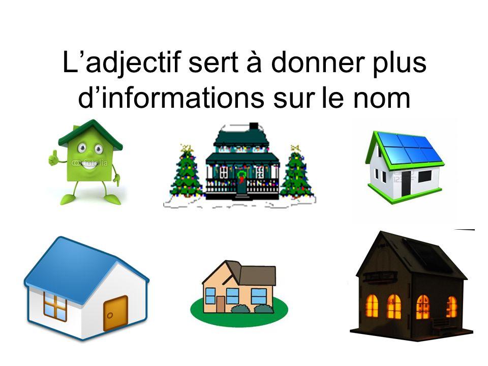 Petite maison Une maison décorée Une maison verte et blanche Une maison éclairée Une maison minuscule Une maison bleue