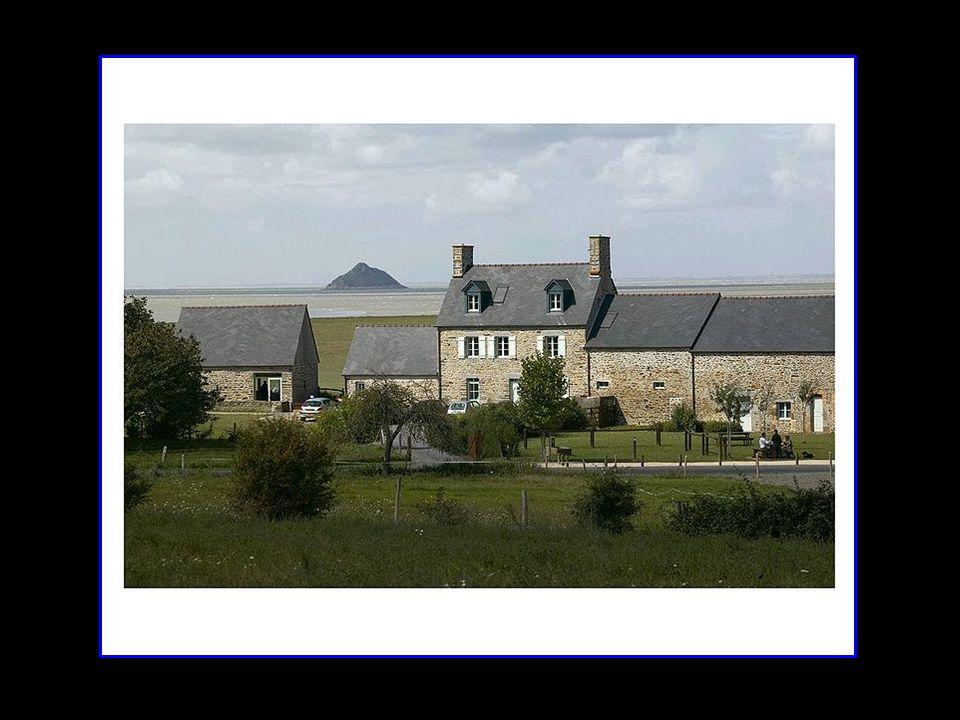 Lécomusée de la baie du Mont-Saint-Michel, ouvert en 2001 sous le nom de la Maison de la Baie – Relais de Vains est consacré à la formation et la vie de la baie et permet de découvrir les différents milieux de la baie : la mer, la terre et lair et leurs occupants