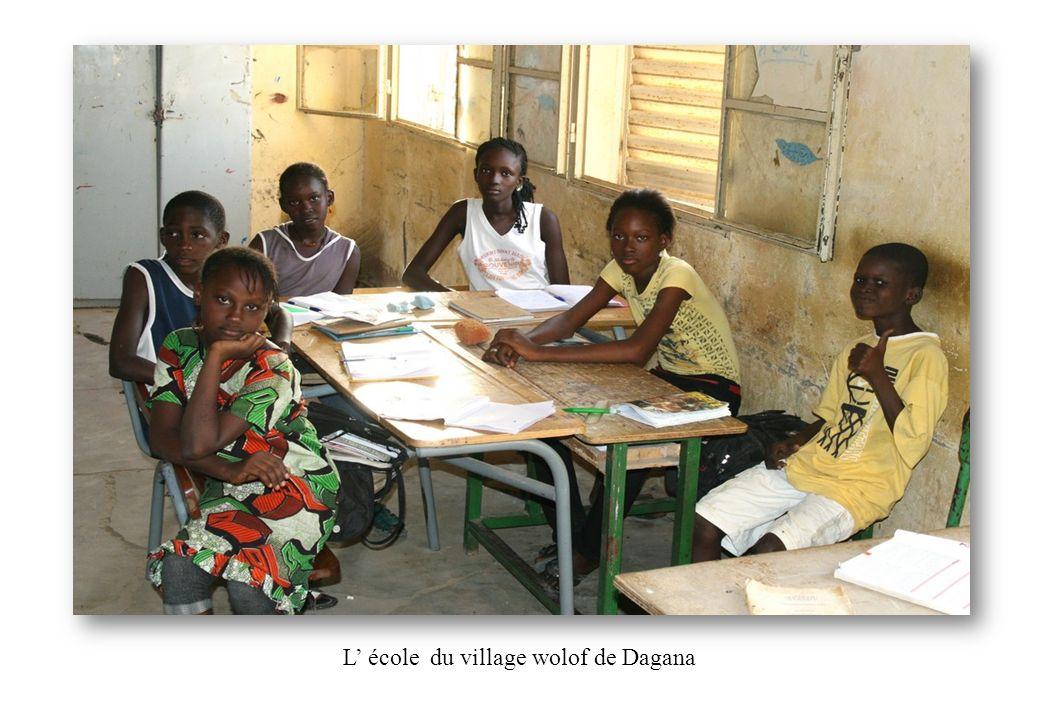 L école du village wolof de Dagana