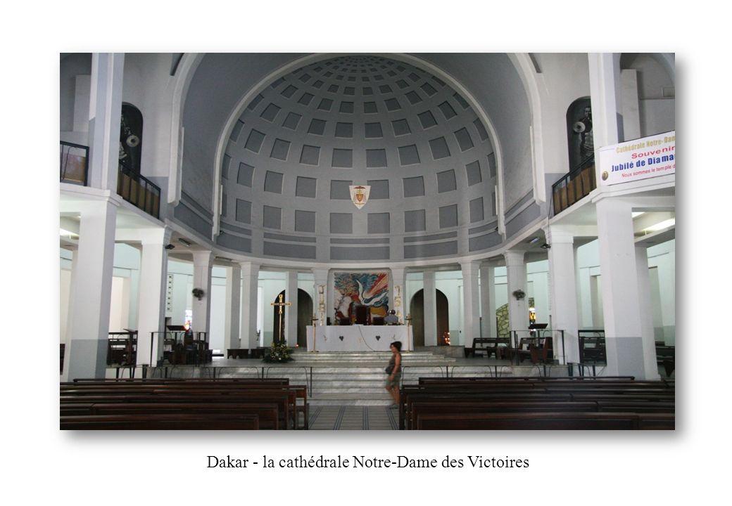 Dakar - la cathédrale Notre-Dame des Victoires