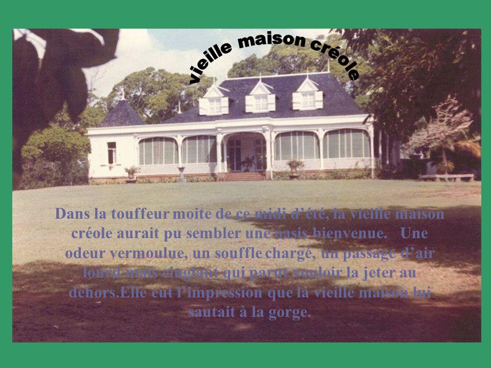Dans la touffeur moite de ce midi dété, la vieille maison créole aurait pu sembler une oasis bienvenue.