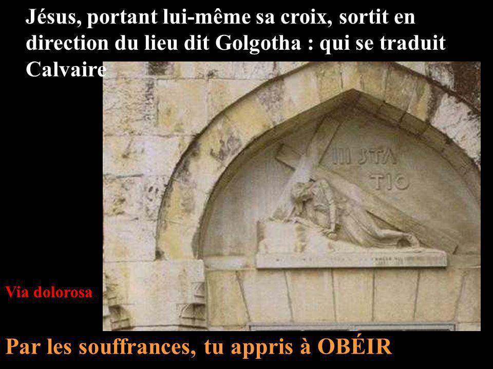 1 2 3 Gethsémani Maison dAnne Maison de Caïphe 4 Prétoire de Pilate 5 Via Dolorosa