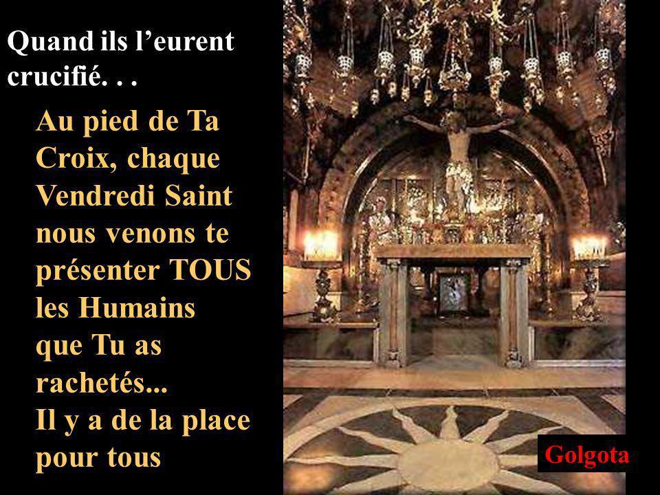 1 2 3 Gethsémani Maison dAnne Maison de Caïphe 4 Prétoire de Pilate 5 Via Dolorosa 6 Calvaire