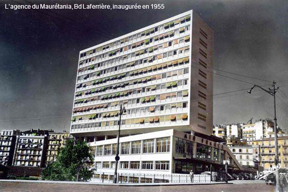 Lagence du Maurétania, Bd Laferrière, inaugurée en 1955