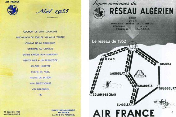 Le réseau de 1952