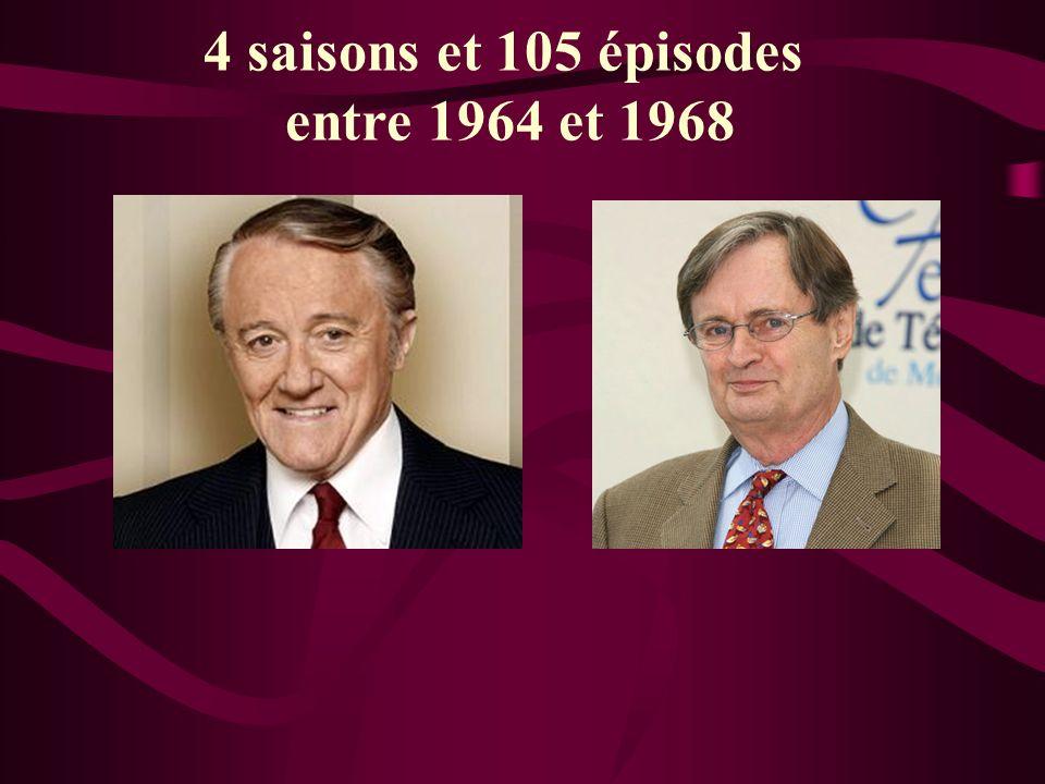 4 saisons et 105 épisodes entre 1964 et 1968