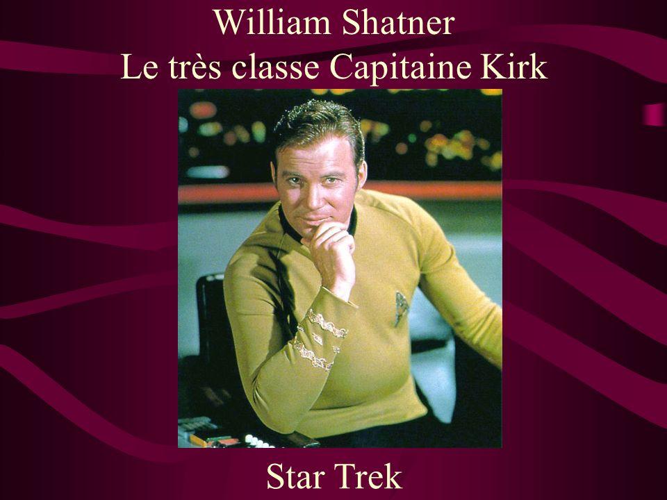 William Shatner Le très classe Capitaine Kirk Star Trek