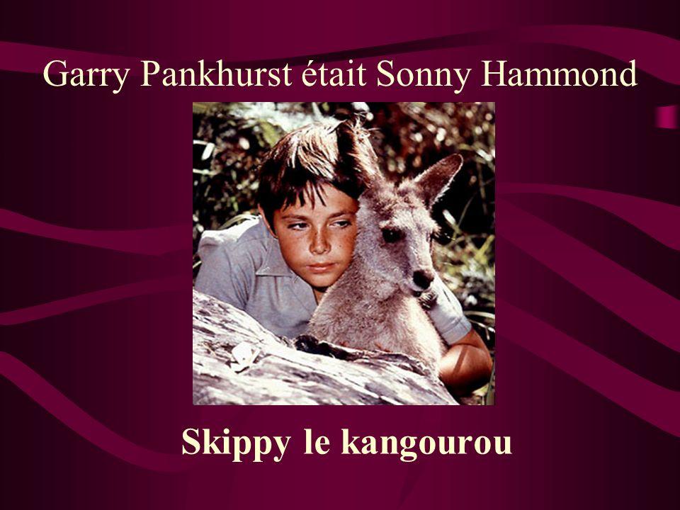 Garry Pankhurst était Sonny Hammond Skippy le kangourou