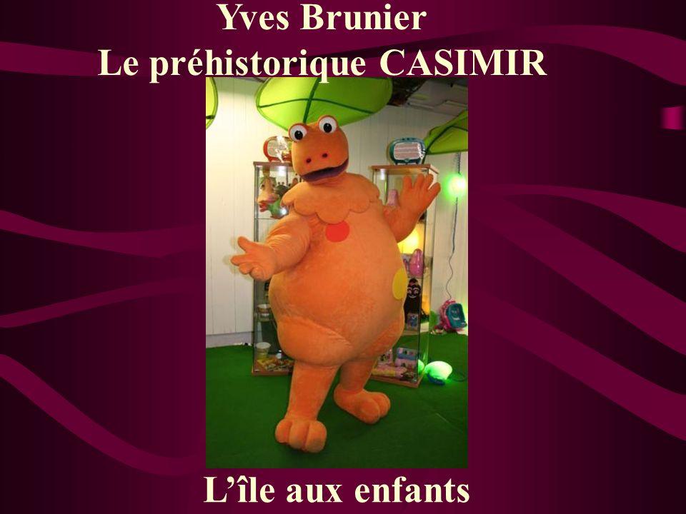 Yves Brunier Le préhistorique CASIMIR Lîle aux enfants