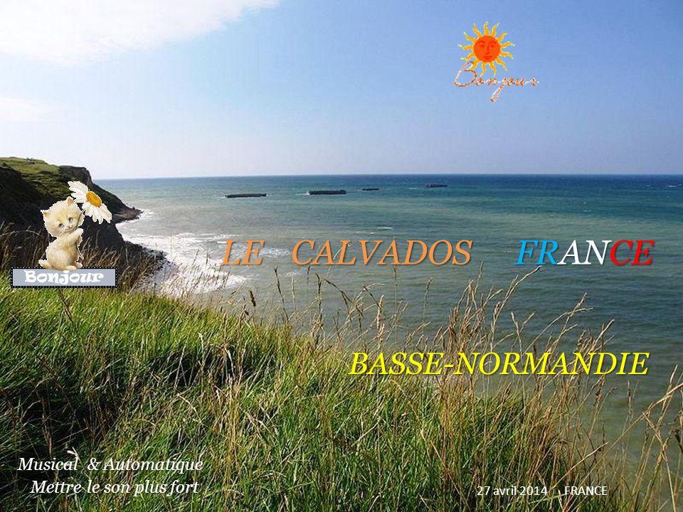 LE CALVADOS FRANCE BASSE-NORMANDIE 27 avril 2014 FRANCE Musical & Automatique.
