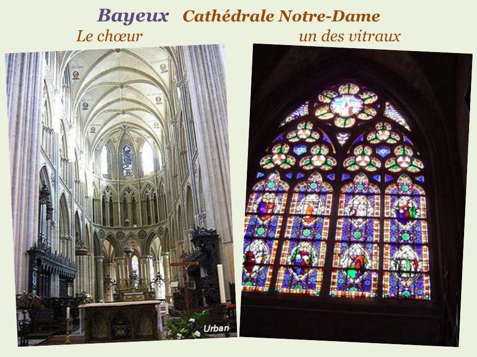Bayeux Cathédrale Notre-Dame du. XIe au XVe siècle