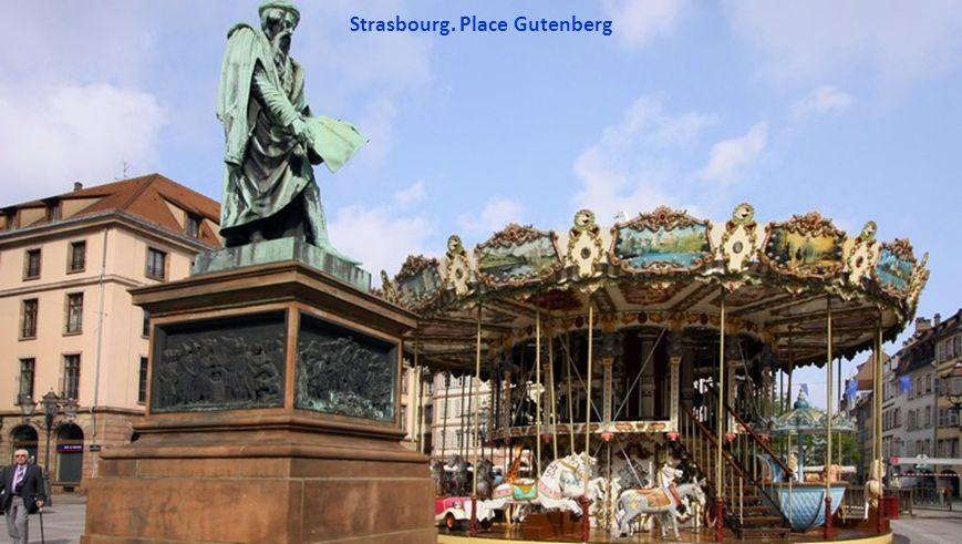 Strasbourg. Place Broglie