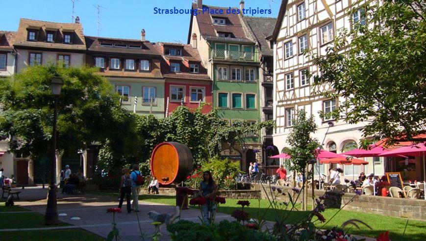 Strasbourg. Place Gutenberg