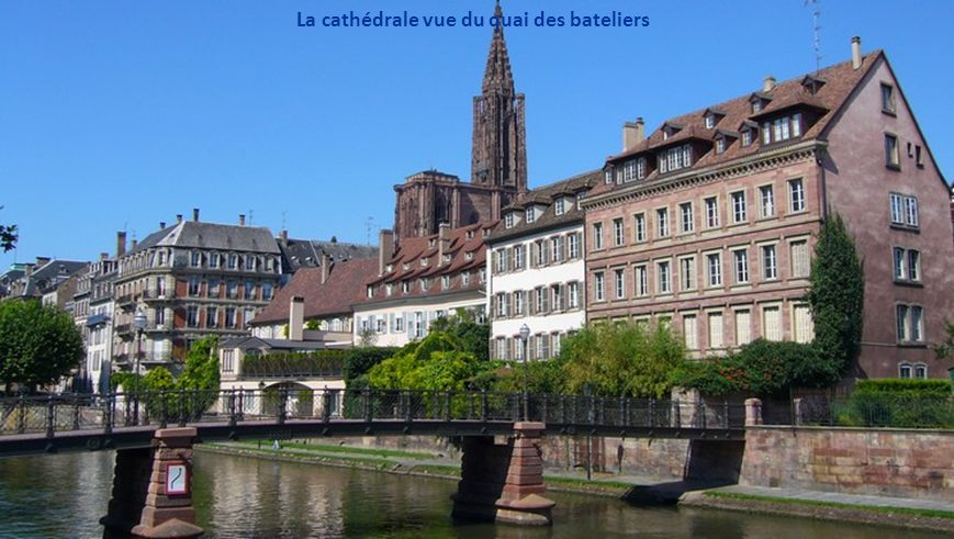 La cathédrale vue du quai des bateliers
