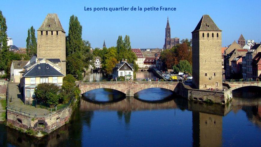 Les ponts quartier de la petite France