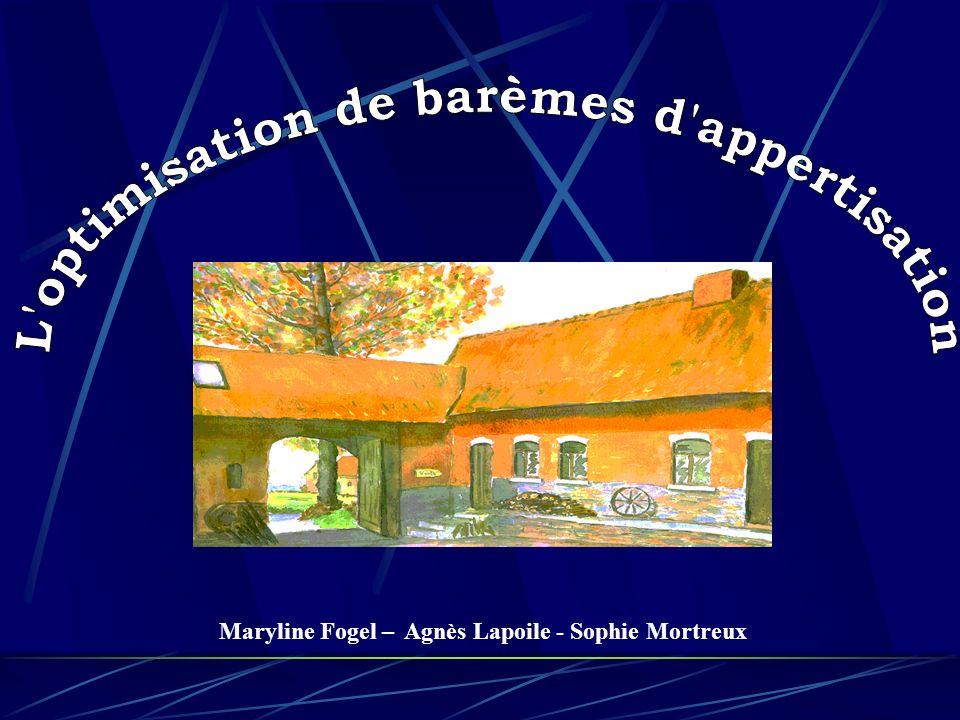 Maryline Fogel – Agnès Lapoile - Sophie Mortreux