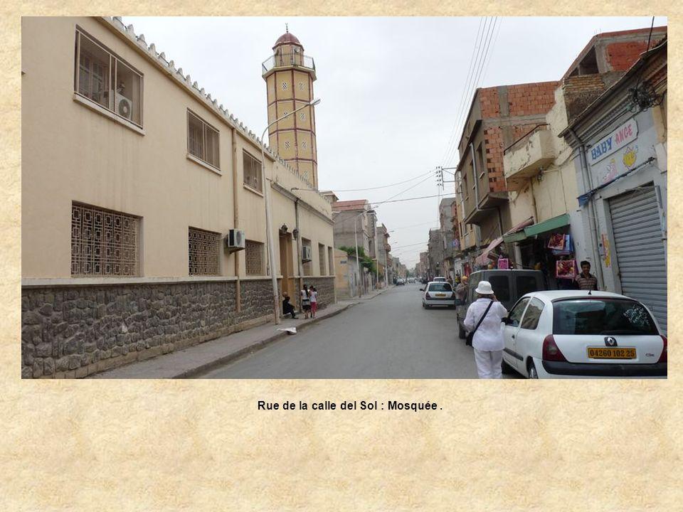 Calle del Sol : Rue Oudinot.