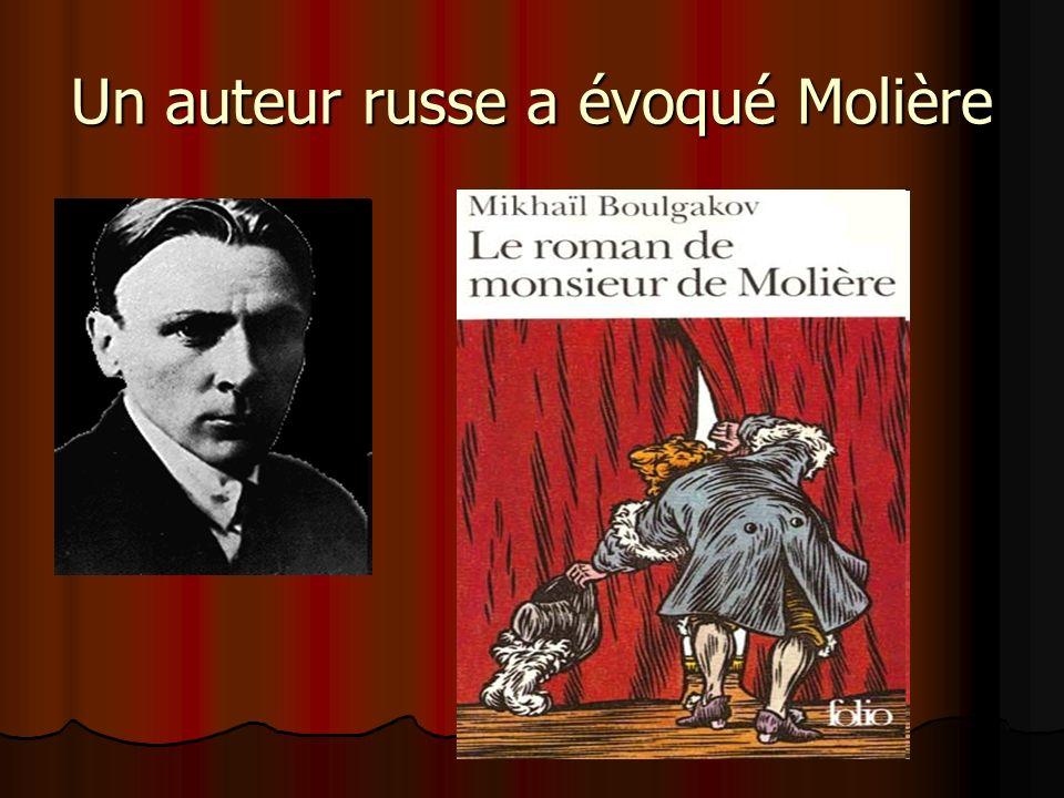 Un auteur russe a évoqué Molière