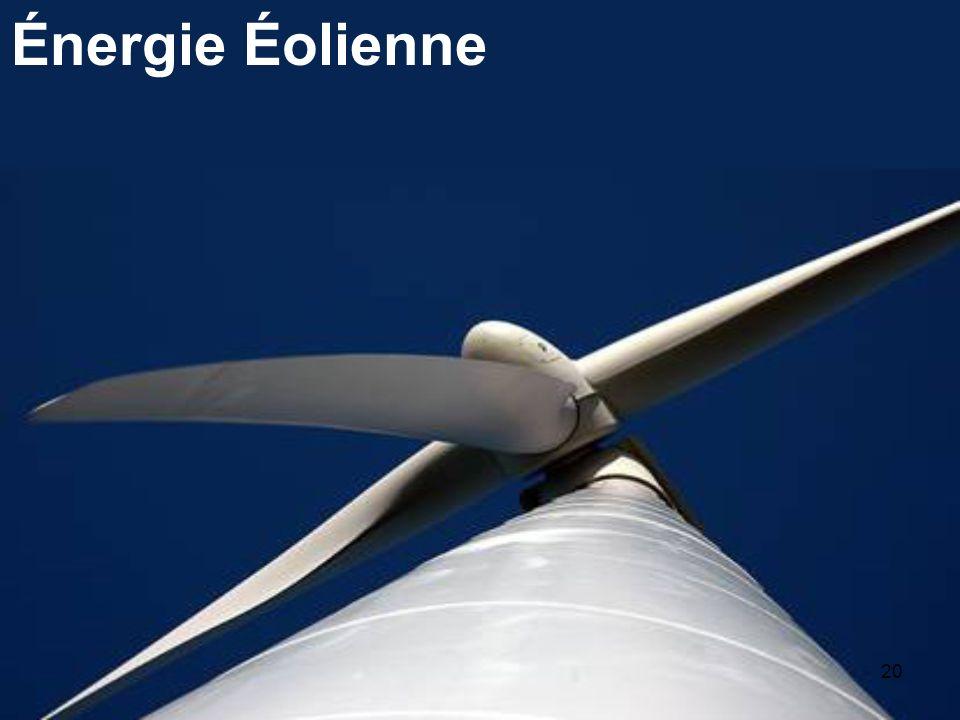 20 Énergie Éolienne