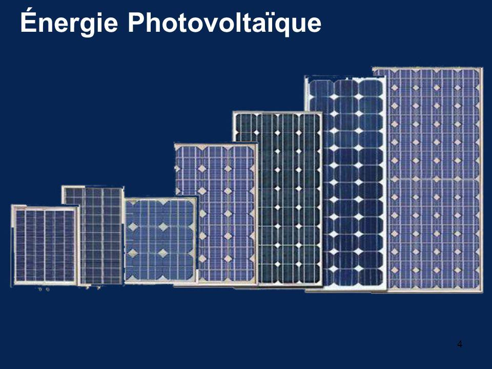 4 Énergie Photovoltaïque