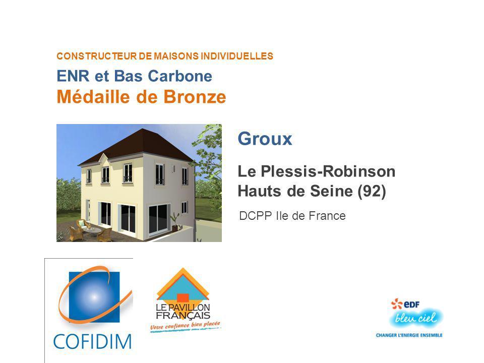 CONSTRUCTEUR DE MAISONS INDIVIDUELLES Bernois Médaille dOr Jaux Oise (60) DCPP Ile de France Ma maison idéale
