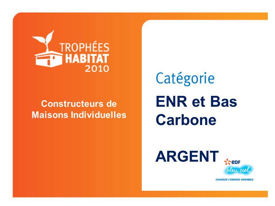 CONSTRUCTEUR DE MAISONS INDIVIDUELLES Bernois Médaille dOr Jaux Oise (60) DCPP Ile de France Innovation