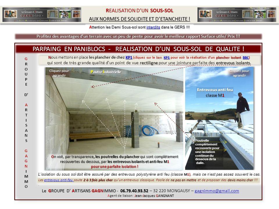 NKP1 lien KP1 plancher isolant BBC Nous mettons en place les plancher de chez KP1 (cliquez sur le lien KP1 pour voir la réalisation dun plancher isola